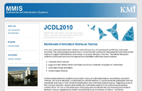JCDL2010: Multimedia Information Retrieval Tutorial